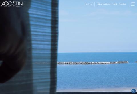 Il progetto dell'Hotel Agostini